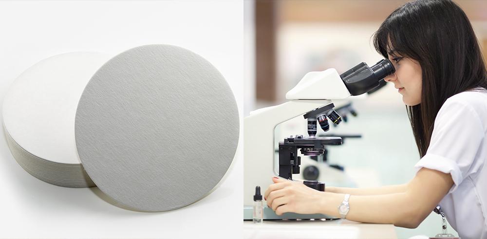 laboratory blotting paper